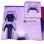 Sony Ps5 Disc Version With 6 Games And A Extra Controller