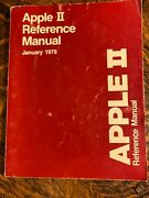 Apple Ii Reference Manual - The Red Book - Vintage 1978