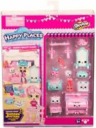 Nib Shopkins Happy Places Decoratorand039s Pack Bearly Ballet Class New Free Shipping