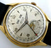 Vertu Venus 203 Triple Calendar Moonphase Small Sec With Dial And Hands Swiss