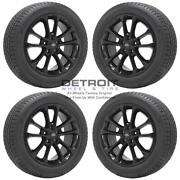 17 Ford Fusion Gloss Black Wheels Rims And Tires Oem Set 4 2019-2020 10205