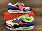 Nike Air Max 1 Water Sports 2020 Hyper Pink Yellow Black Shoes Cz7920-001 Size 8