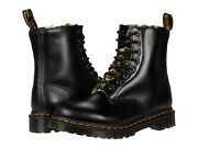 Womenand039s Shoes Dr. Martens 1460 Serena Leopard Faux Fur Boots 26239021 Dark Grey