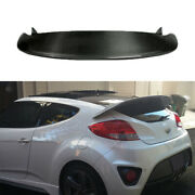 For Hyundai Veloster 2011-16 Real Carbon Fiber Rear Spoiler Tail Trunk Lip Wing