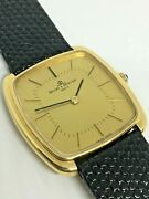 Baume And Mercier 1979 18ct Manual Box And Papers