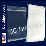 7 X 9 Clear Reclosable Bags 2-mil Zip Top Easy Open Resealable Jewelry Baggies