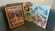 Thundercats Jumbo Collectors Case With 8 Action Figures And Map