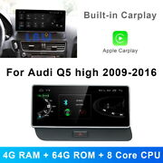 Android 10 Car Gps Navigation Video Wifi Wireless Carplay For Audi Q5 High Class
