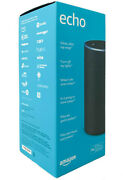 Echo 2nd Generation Smart Assistant With Alexa Charcoal Fabric - Black