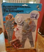 Vintage The Lone Ranger Rides Again Marx Kidnappers Uk Britian Suit And03977 Gabriel