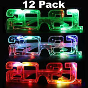 2021 New Years Glasses Eve Party Favors Happy Nye Decorations Supplies New Year