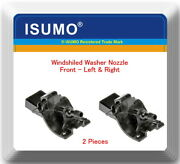 2 Kits Windshield Washer Nozzle Wwn360t Front L/r Fits Scion Toyota 2007-2019