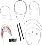 Burly B30-1077 Braided Stainless Steel Cable/brake Line Kit