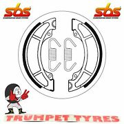 Rm 125 1984 Sbs Front Brake Shoes Genuine Oe Quality 2108