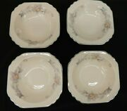 Mid-century Royal Beige Ware By Limoges Sebring Ohio Silver Moon 5m133 Pink