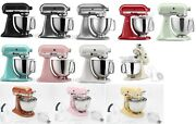 Kitchenaid Artisan 5-qt. Tilt-head Stand Mixer With Pouring Shield Ksm150ps New