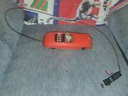 Vintage Arnold Primat Tin Toy Car Red Convert From Germany 1950's