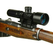 3-9x42 Wide Angle Long Eye Relief Scout Scope Mosin Nagant 91/30 Scope Mount