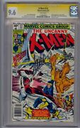 X-men 121 Ss Cgc 9.6 1st Alpha Flight Signed By Stan Lee White Pages