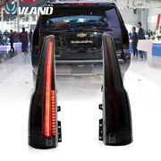Led Smoked Tail Lights For 2015-2020 Chevrolet Tahoe Suburban Escalade Style