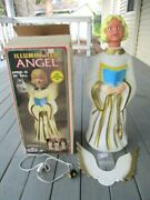 Vintage New Empire Christmas Blow Mold Angel 30 Box Local Pickup Only 95619