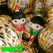 Javier Calleja Little Maurizio Figurine Xmas Edition Red And Green Set 2pcs