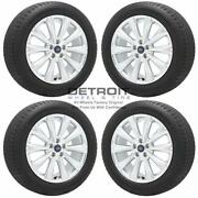 18 Ford Escape Silver Wheels Rims And Tires Oem Set 4 2013-2019 10110