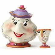 Disney Traditions By Jim Shore Mrs. Potts And Chip Figurines
