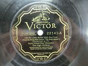 The High Hatters - Victor 22141 - I'm In Love With You And The Web Of Love