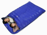 Double Person Goose Down Water Resistant Camping Outdoor Envelope Sleeping Bag