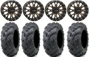System 3 St-3 Bronze 14 Wheels 27 Zilla Tires Yamaha Grizzly Rhino
