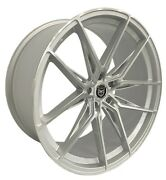 4 Hp1 20 Inch Stagg Silver Rims Fits Jaguar S-type R 2003-08