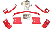 Bmr Suspension For 79-04 Ford Mustang Torque Box Reinforcement Plate Kit Tbr004r