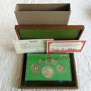Singapore 1979 7 Coin Proof Year Set With Silver 10 - Sealed/complete