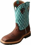 Twisted X Menand039s Steel Toe Western Work Boot