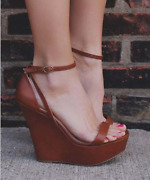 Womenand039s Summer Wedge Sandals Open Toes Buckle Sexy Gladiator Shoes Beach Size