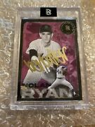 Ben Baller 1 Of 5 Gold Ink Auto Topps 2020 Nolan Ryan Sold Out 1min Offers Up
