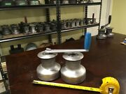 Pair Of Barlow Australia 24 Winches And Crank Handle 2 Speed Set 1