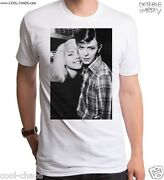 Blondie And David Bowie T-shirt / Retro Black And White Photo-official Debbie Harry