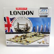 The City Of London History Over Time Puzzle, 4d Cityscape 1200+ Pcs New Sealed