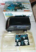 Used 1991 Marvel Superheroes Punisher Van Toy Biz With Box And New Stickers S31