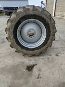 Goodyear Dt 480/70r30 Rear Combine Tires And Wheels Case Ih