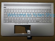 Hp Pavilion 15-cc Tpn-q191 C Shell With Keyboard All-in-one Backlight Rj89 Df