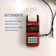 Wontest Mt2600 Portable Paint Coating Thickness Gauge High-precision 2.7 Oled