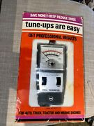 Genuine Vintage Rac 557 Automotive Dwell Tachometer With Box New Old Stock