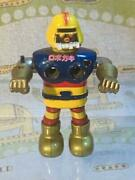 Popy Ganbare Robocon Chogokin Tinplate Tin Toy Antique Vintage Retro