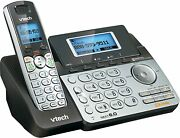 Telephone Vtech 2-line Cordless Phone Digital Answering System House Office Call