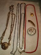 Vintage Lot Of Collectible Costume Jewelry