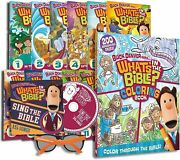 Buck Denver Asks What's In The Bible- Full Dvd Set + Coloring Book, Cd And Glasses