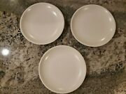 Set Of 3 Kenneth Cole React Chic Er By The Dozen Replacement White Salad Plates